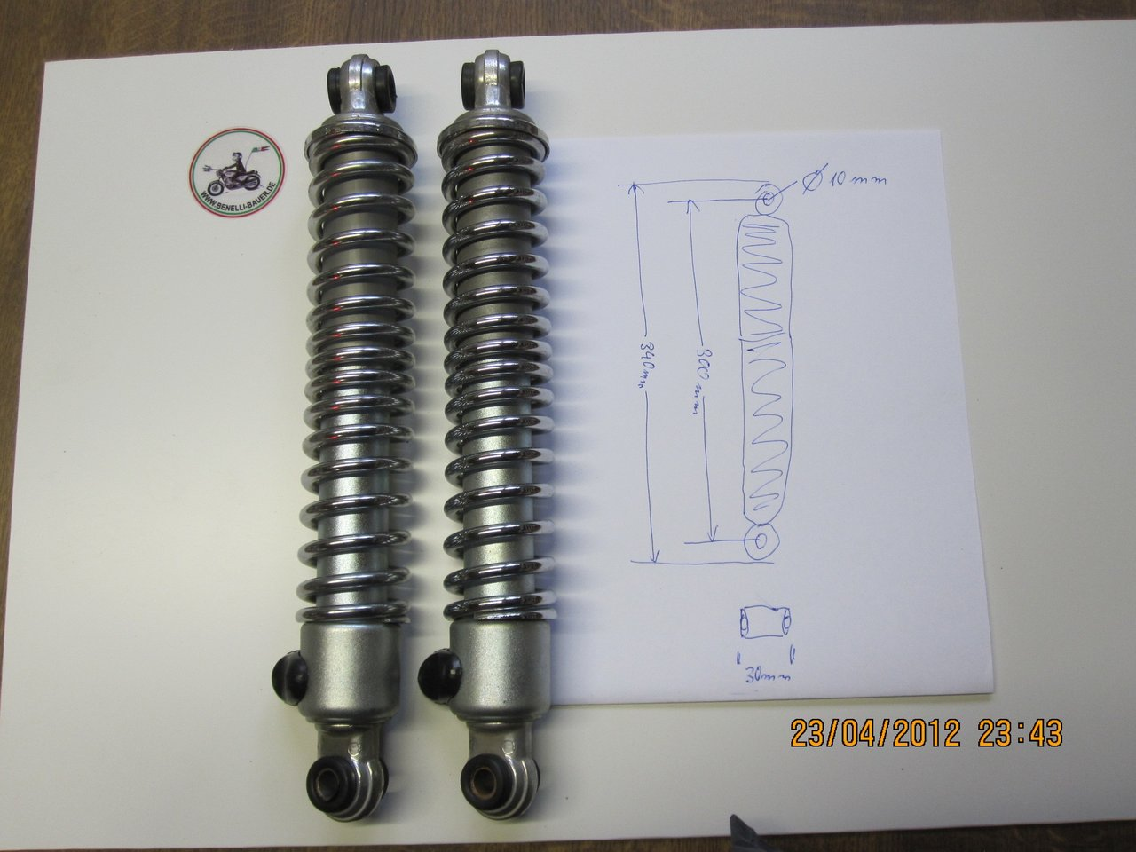 Rear shock absorger Benelli