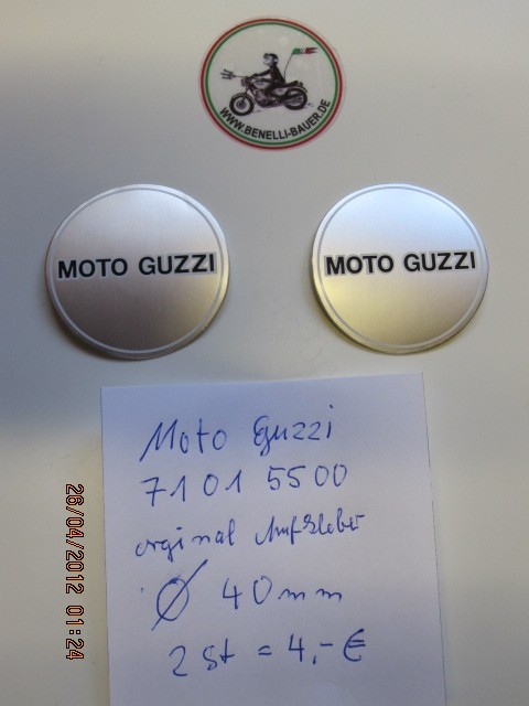 Original sticker Moto Guzzi