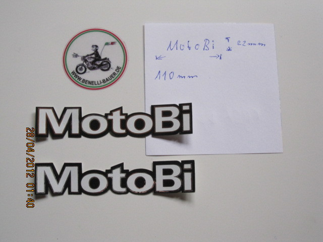 Sticker / Motobi originale, 71922001