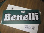 Advertising sign Benelli original