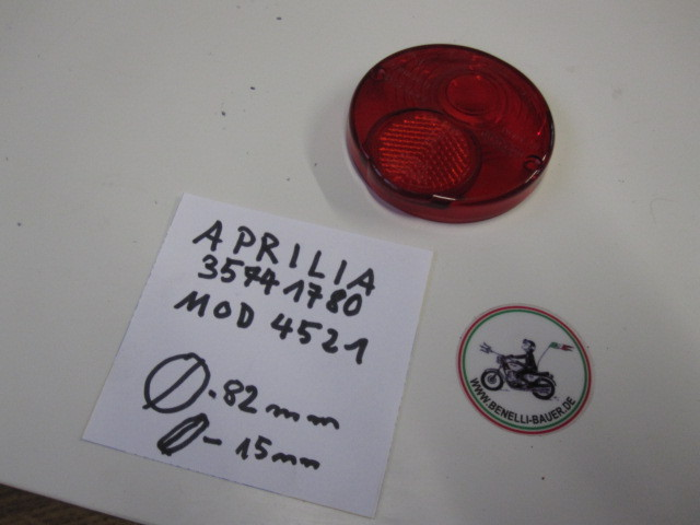 Rear Light Glass / Aprilia 4521/35741780