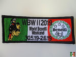 World Benelli Weekend 2019 Aufnäher