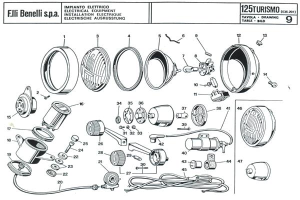 Schema Elettrico Liberty 125 : Impianto elettrico