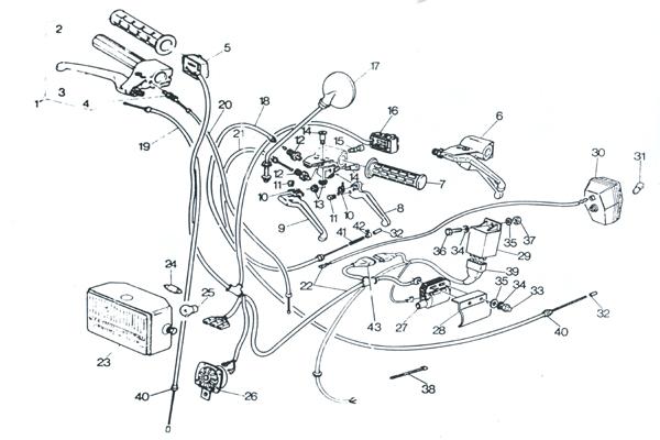 Schema Elettrico City : Steuerorgane elektrische anlage benelli bauer
